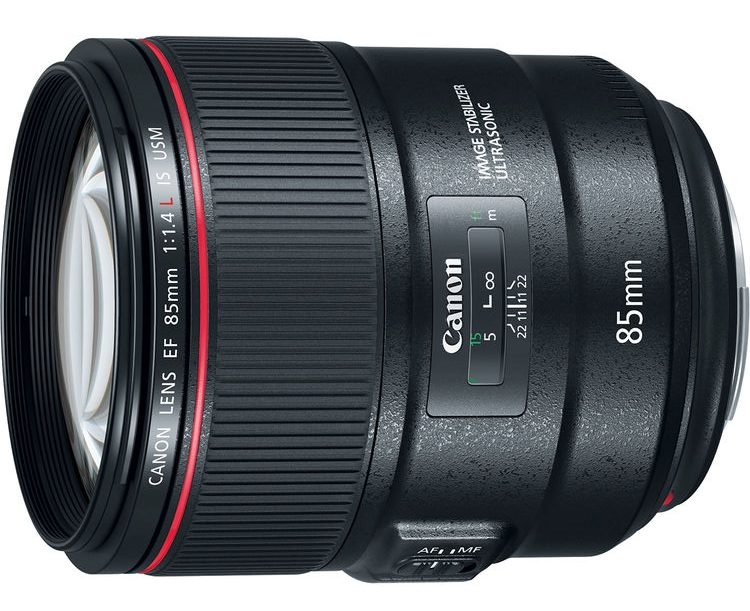 Canon 85mm f1.4L IS USM LENS