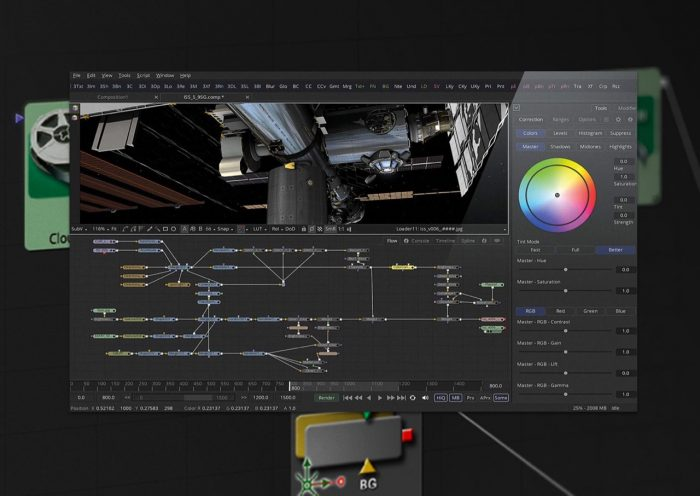 Blackmagic Design Fusion 9 VR Support