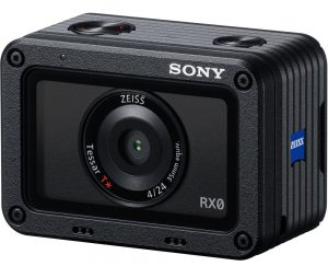 Sony RX0 front action camera 4k zeiss lens