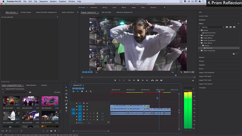 how to add adjustment layer in premiere pro cc 2017