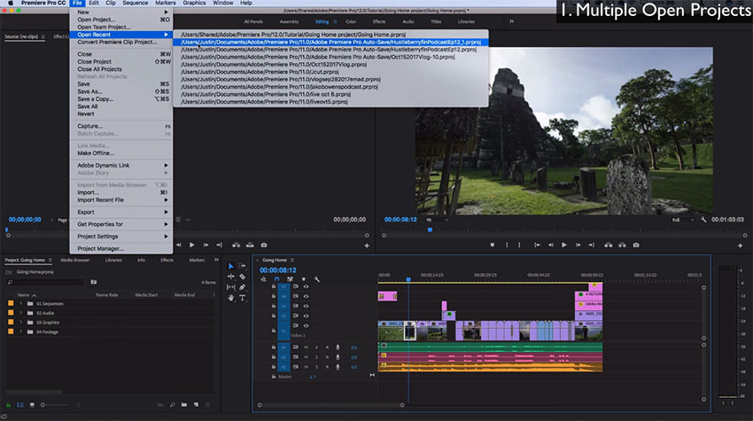 The most exciting new features in adobe premiere pro cc 2018 from a even though its relatively new adobe is really pushing users to take advantage of the essential graphics panel with the recent enhancements made to the ccuart Images