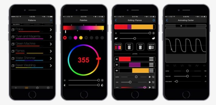 colorspike LED stick ios android app