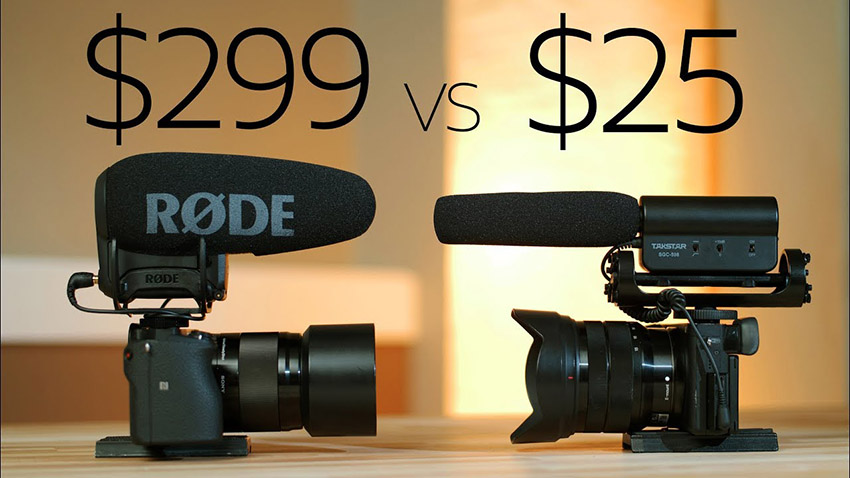 how does the 25 takstar mic hold up against the 299 rode videomic pro 4k shooters. Black Bedroom Furniture Sets. Home Design Ideas