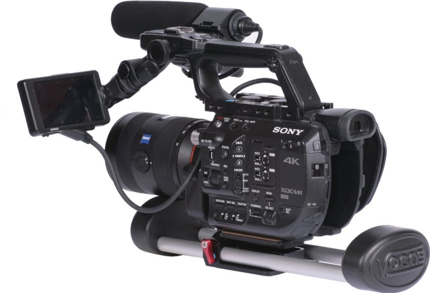 Vocas Belly Support NAB 2018 Sony FS5