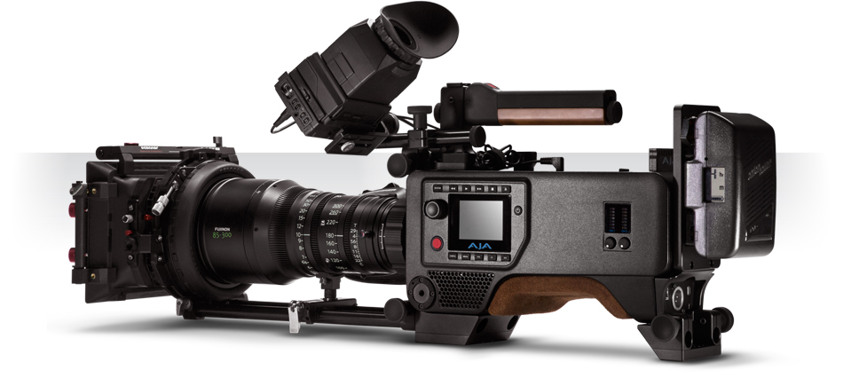 AJA side 4K CION Camera