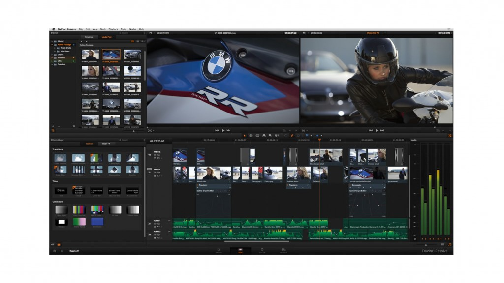 New davinci resolve 11