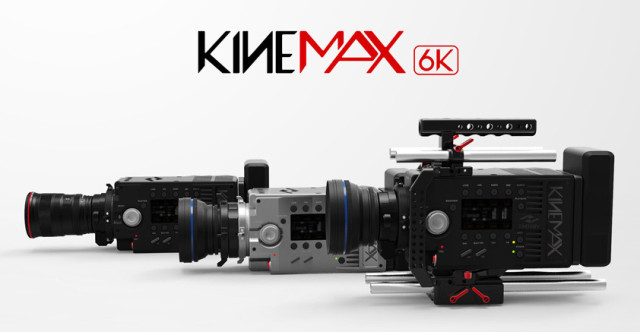 KineRaw S35, Kinemax 6K, and KineMini 4K