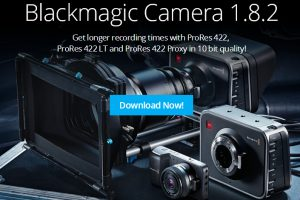 Blackmagic Design Release New Camera Utility 1.8.2 Adds ProRes 422, LT, and Proxy in 10-bit