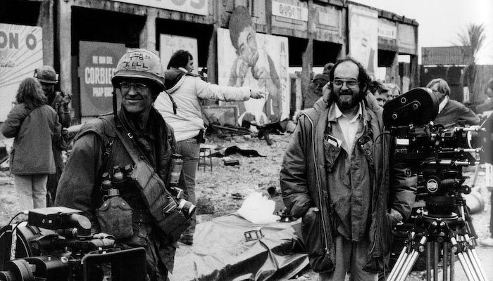 Full Metal Jacket Kubrick on set 4K Shooters
