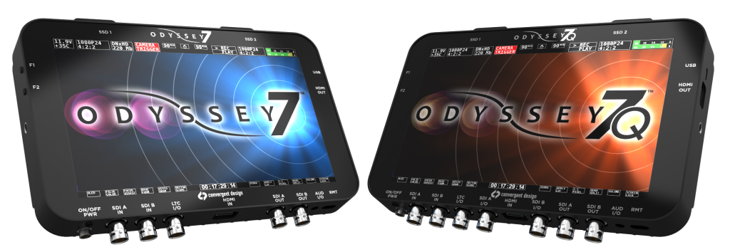 ODYSSEY7 7Q 4k shooters