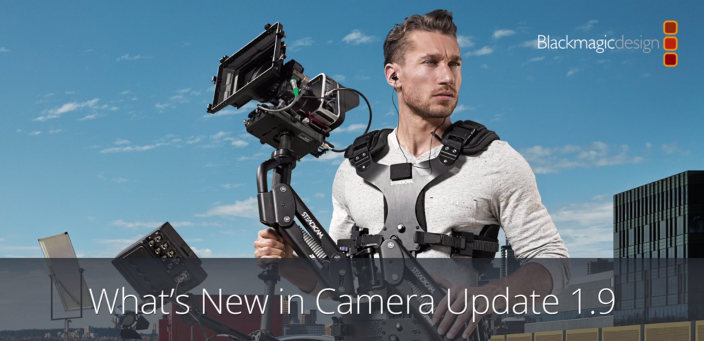 Blackmagic Camera Utility 1.9 4K Shooters