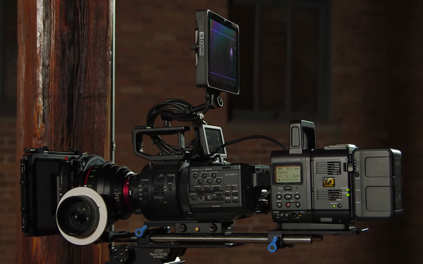 Sony FS700 and Sony AXS-R5 Recorder 4K Shooters