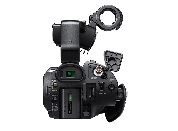 Sony-PXW-X70-Camera-back 4K Shooters