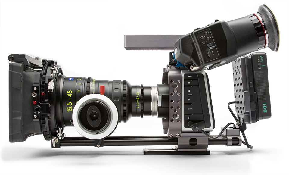 BMCC rig 4K Shooters EVF