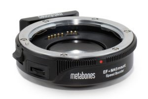 Metabones Canon EF to Micro Four Thirds Speed Booster is Now Shipping