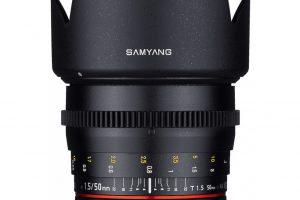Samyang Announces New 50mm VDSLR T1.5 AS UMC Cine Lens