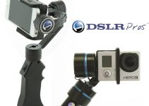 3-Axis Powered Stabilizers for Your iPhone or GoPro Hero4