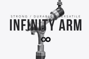 The Infinity (Magic) Arm for GoPro, A7s, GH4 and Other Cameras