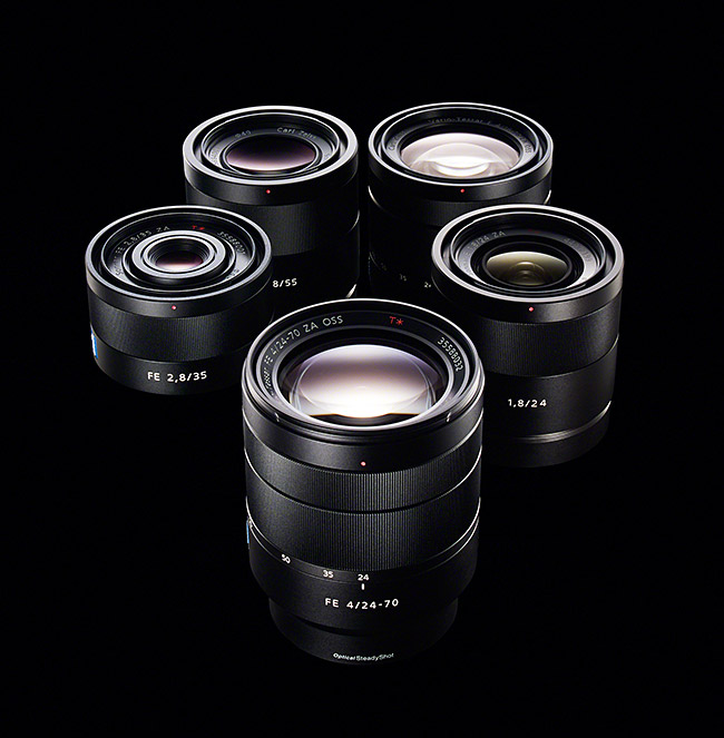Sony-Zeiss-E-Mount-Lenses