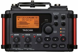 The New Tascam DR60 Mark II Audio Recorder For Your DSLR is Here