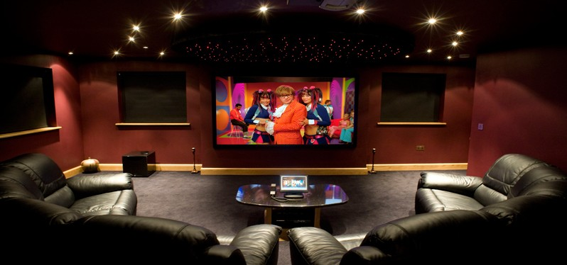 Home cinema experience