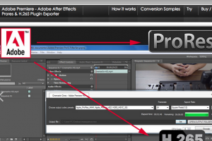 Cinemartin Releases ProRes & H.265 Plugin for Adobe After Effects