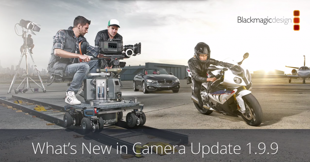 Blackmagic URSA camera Utility 1.9.9