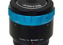 Fotodiox Pro B4 Magic Adapter for BMPCC Lets You Use Broadcast Zoom B4 2/3″ Lenses on Your Black Magic Pocket Cinema Camera