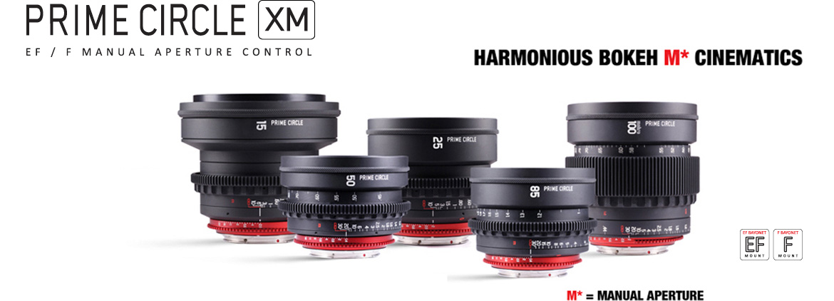 Prime Circle XM Cine Lenses