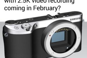 Rumor: The Upcoming Samsung NX500 Features 2.5K Internal Video Recording?
