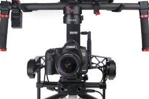 MOZA 3-Axis Handheld Gimbal Stabilizer Has Built-In Wireless
