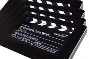 DIGISTOR Announces 1TB SSD for 4K RAW Video Recording on Blackmagic Cameras