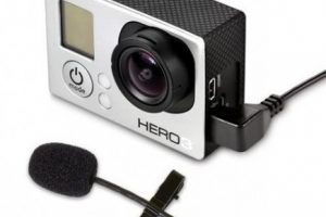 GOLav Wearable Microphone for GoPro Hero4 Cameras