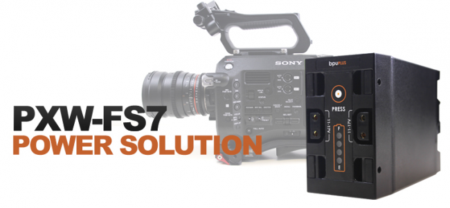 Sony FS7 hawk woods
