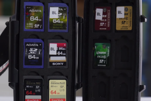SD Cards for 4K Video – Comparison by LinusTechTips