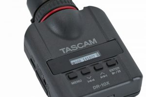 A Quick Overview of the Tascam DR-10X Plug-On Linear PCM Recorder