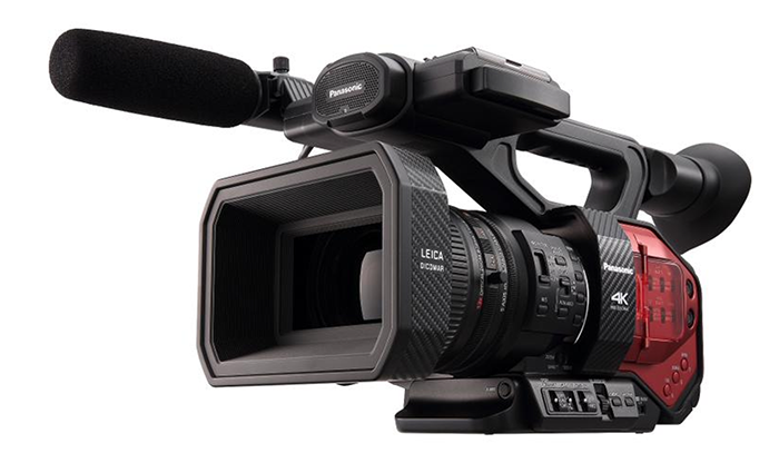 Nab 2015 New Panasonic Ag Dvx200 4k Camcorder With 43 Sensor And A