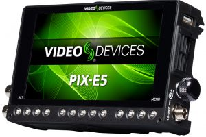 PIX-E5 Monitor Can Now Record 4K via 6G-SDI, 1080p/120fps Slow-Mo in Firmware v1.10