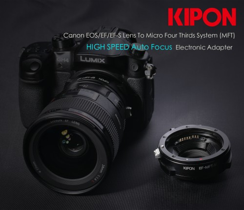 Kipon EF to MFT adapter 2