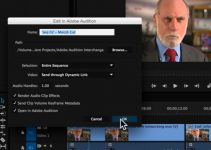 Sending Files Between Adobe Premiere Pro CC And Adobe Audition CC