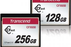 Transcend's New CFX650 CFast 2.0 Cards Now Approved By Blackmagic Design