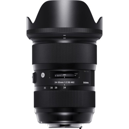 sigma 24-35mm f2.0 Art lens Canon EF mount