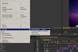 How to Easily Find The Annoying Frame Gaps Of Your Edit In Premiere Pro CC