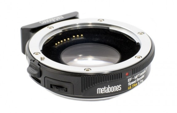 Metabones Speed Booster Canon EF to MFT Firmware Update Adds