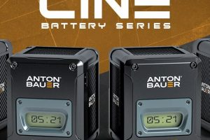 New CINE Batteries For ALEXA Mini and RED Weapon from Anton Bauer at IBC 2015