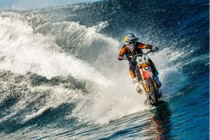 """Viral Short """"Pipe Dream"""" Reveals Making Surfing on a Motorbike a Reality"""
