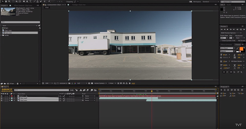 Liven Up Your Editing By Creating a Whip-Pan In Adobe After