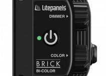 The Litepanels Brick is a New Powerful Bi-Color Portable LED Light