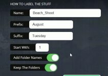 Batch Rename and Organise Your Media Files In No Time With The Labelr