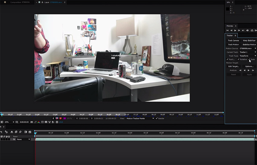 Adding Realistic Camera Shake To Your Footage In After